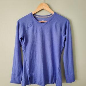RYU blue longsleeve running top size medium